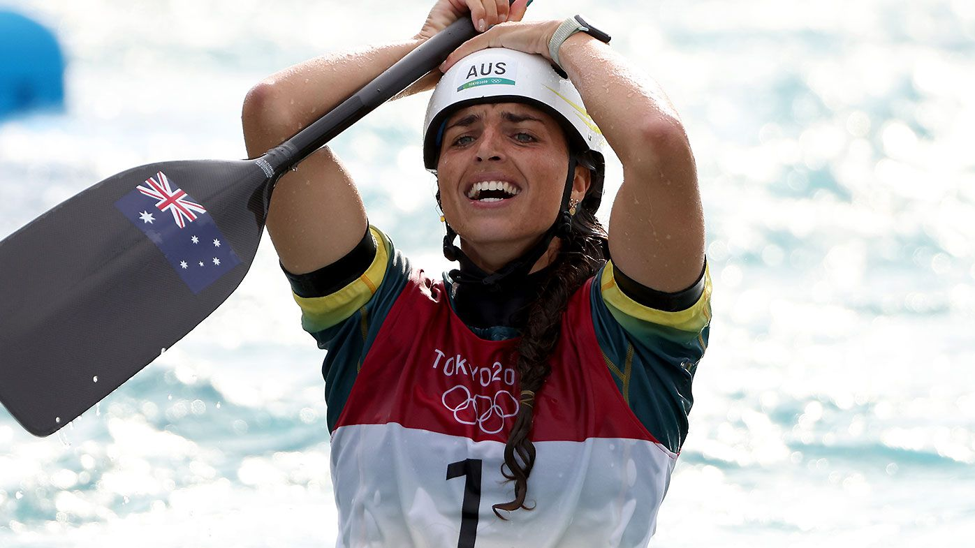Tokyo Olympics 2021: Jess Fox reveals she 'threw up' prior to gold medal win in C1 slalom final