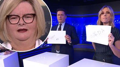 'Weakest Link' host Magda Szubanski rates Today hosts' skills