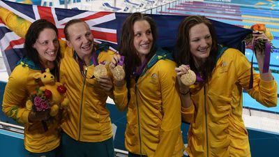 London 2012: Women's 4x100m freestyle relay