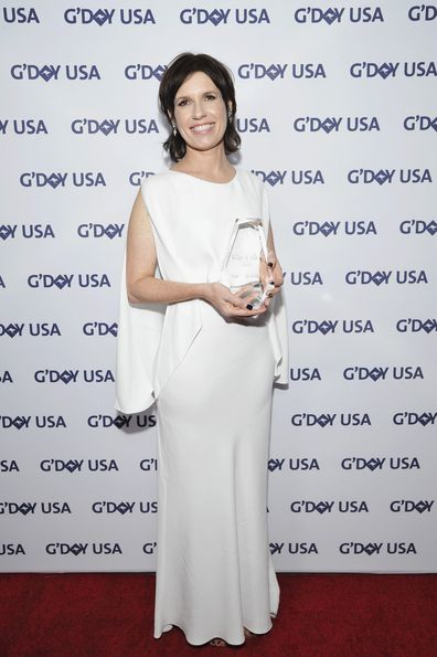Deborah Riley attends the 2019 G'Day USA Gala on January 26, 2019