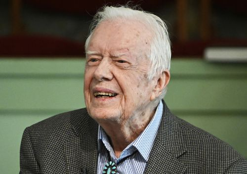 Former President Jimmy Carter was admitted to Emory University Hospital in Atlanta ahead of a procedure to relieve pressure on his brain