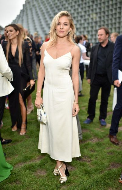 Sienna Miller at The Serpentine Summer Party in London in June, 2016