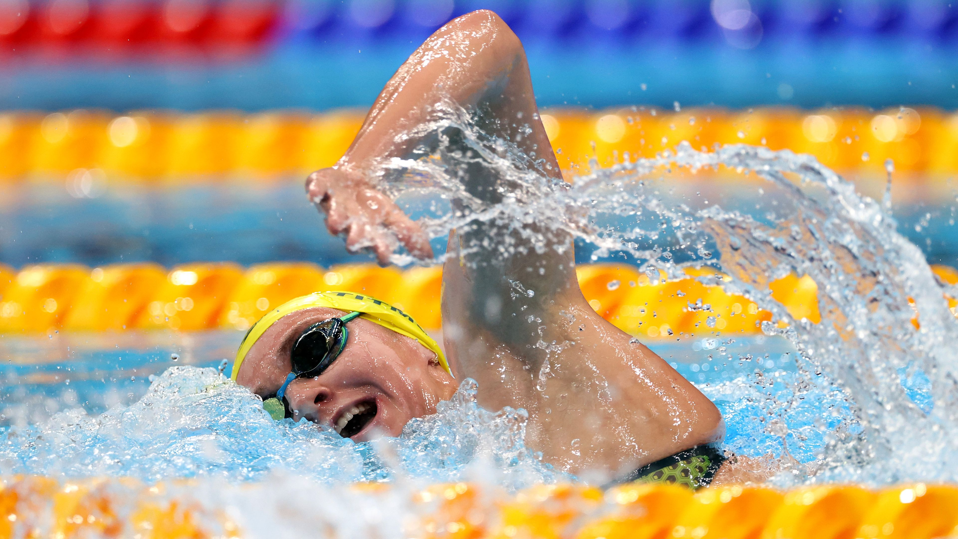'Exhausted' Titmus pays tribute to Phelps