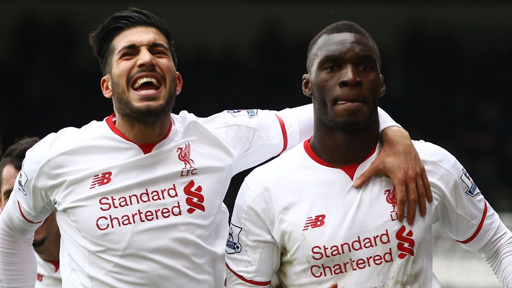 Late pen seals win for 10-man Liverpool