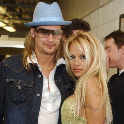 Pamela Anderson and Kid Rock