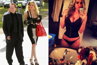 Age when they met: 24.<br/><br/>From: New York.<br/><br/>Signature look: Tall and blonde. Very Brynne-like... she even tagged a picture of herself and Geoffrey: '#brynneedelsten'. Brynne 2.0. has arrived!<br/><br/>Job: Fashion model, like Geoff's first wife Leanne. She's also a DJ, going under the name of DJ Gigi Vamp.<br/><br/>Images: Getty/Instagram/Gabi Grecko