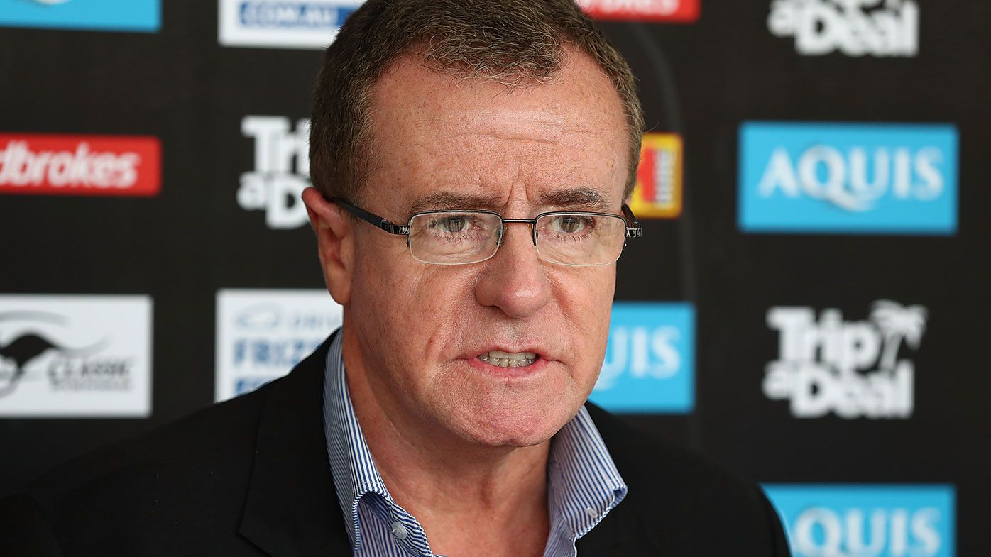 NRL might not yet be done with brutal discipline of officials after Eels-Roosters farce, says footy boss Graham Annesley