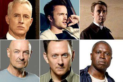 John Slattery, <I>Mad Men</I><br/><br/>Aaron Paul, <I>Breaking Bad</I><br/><br/>Martin Short, <I>Damages</I><br/><br/>Terry O'Quinn, <I>Lost</I><br/><br/>Michael Emerson, <I>Lost</I><br/><br/>Andre Braugher, <I>Men of a Certain Age</I>