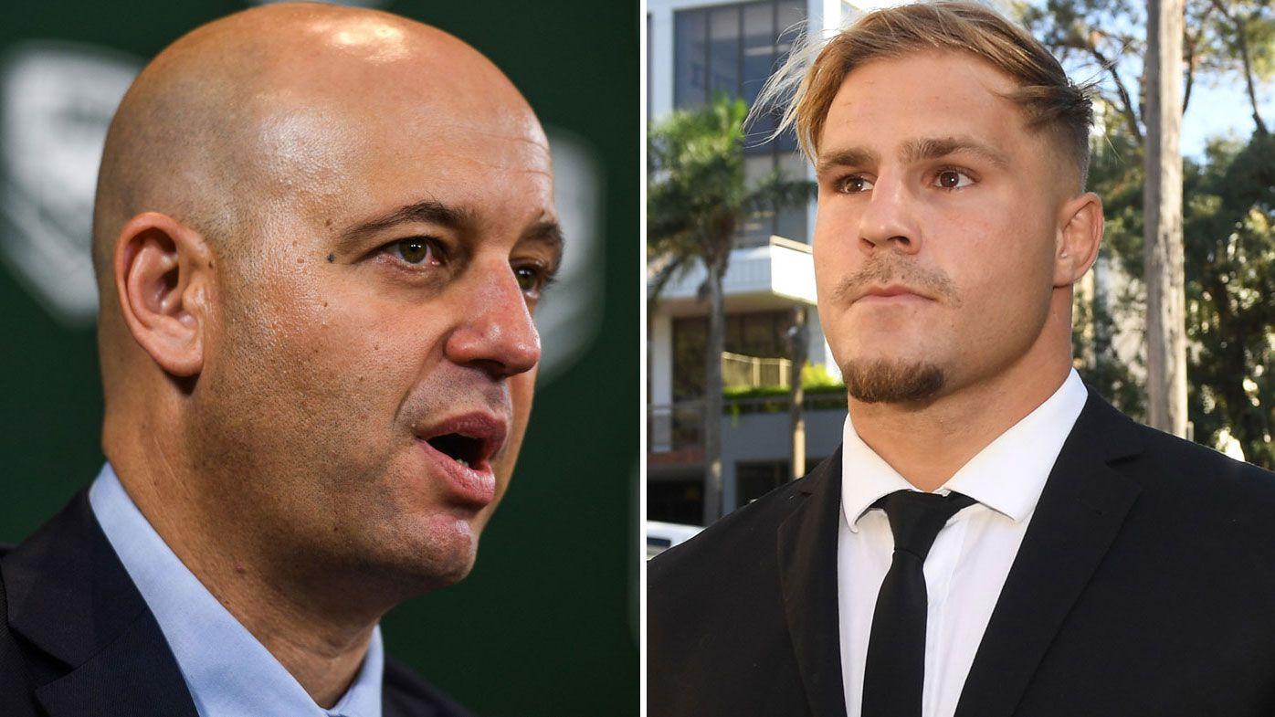 'Every 22 days': NRL justifies crackdown in Jack de Belin case with sobering figures