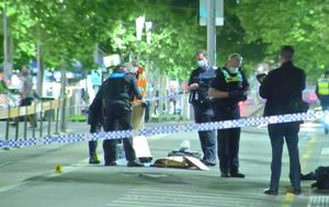 Six charged after Melbourne CBD brawl on Swanston Street