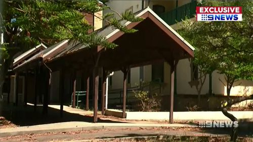 Cairnsfoot Special School moved to a new $20 million facility at Brighton le Sands last year, leaving the government room to develop the old site into 81 partments with blocks up to 21-metres high. Picture: 9NEWS.