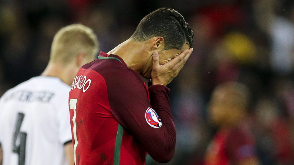 Portugal held by Austria at Euro16