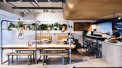 The Crux & Co., Melbourne VIC - nominated for best cafe design