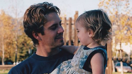 Meadow often shares images of her with late father, Paul, on Instagram.