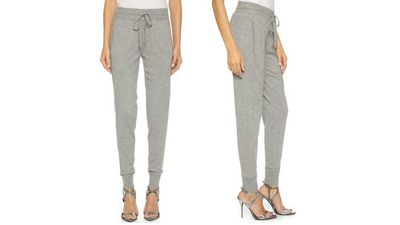 Donna Karan New York luxe cashmere sweatpants