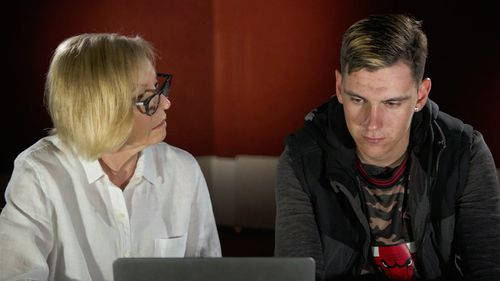 Liz Hayes speaks with Dylan Voller. (60 Minutes)
