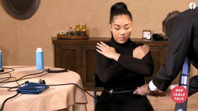 Jordyn Woods, Jada Pinkett Smith, Red Table Talk, lie detector