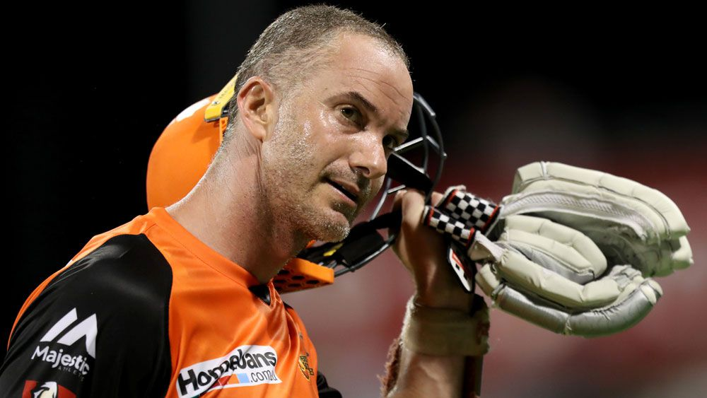 Perth scorch again to move to top of BBL table and keep Sydney Sixers winless