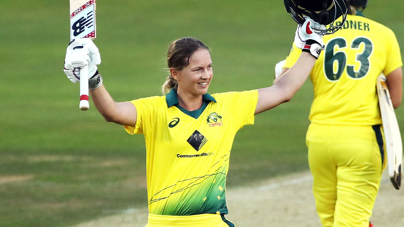 Australia wins Women's Ashes in England as skipper Meg Lanning smashes world record