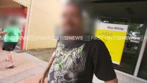 Another man attended court with the accused woman's son. (9NEWS)