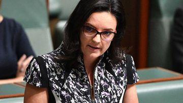Emma Husar in parliament