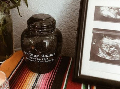 The couple are sharing their story to raise awareness of the trauma of stillbirth.