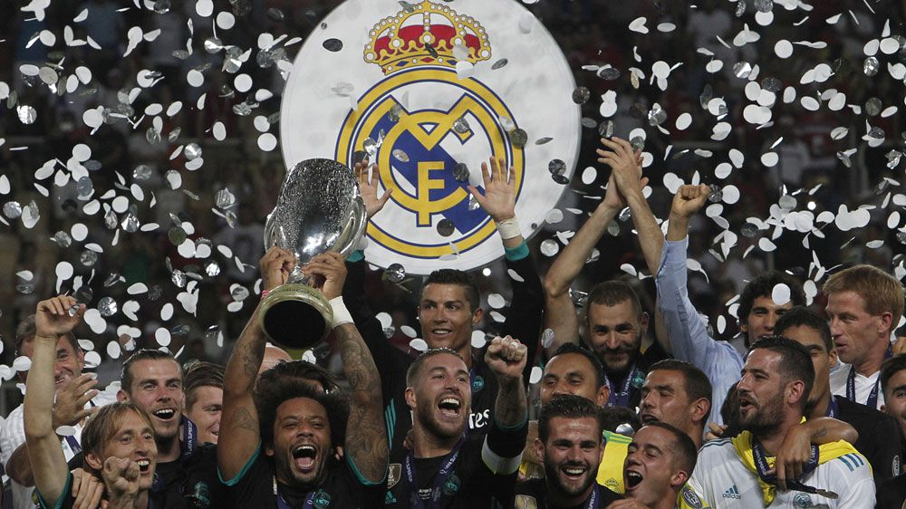 Mourinho upbeat after Super Cup loss