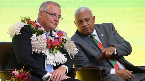 Scott Morrison Fiji Pacific Trip