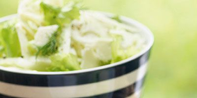 Fennel & celery salad