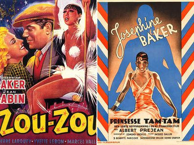 Josephine Baker movie posters
