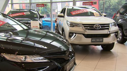 Car sales are also set to be another area where shoppers save big. Picture: 9NEWS.