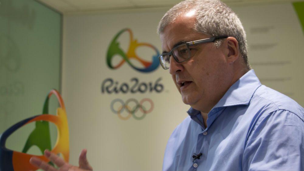 Olympic Games Rio 2016 Communications Director Mario Andrada. (AFP)