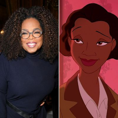 Oprah Winfrey as Eudora in The Princess and the Frog