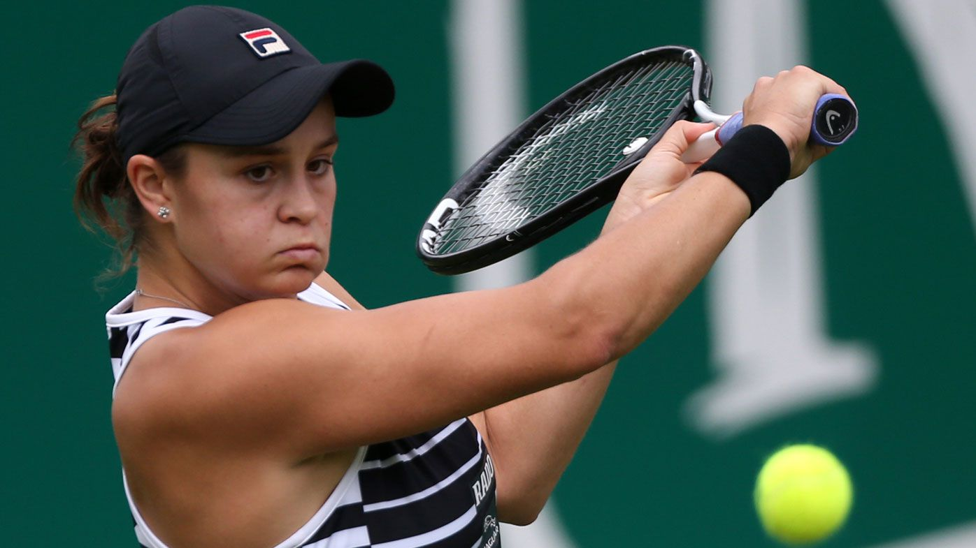 Clay queen Ashleigh Barty happy to be back on grass, beats in-form Donna Vekic