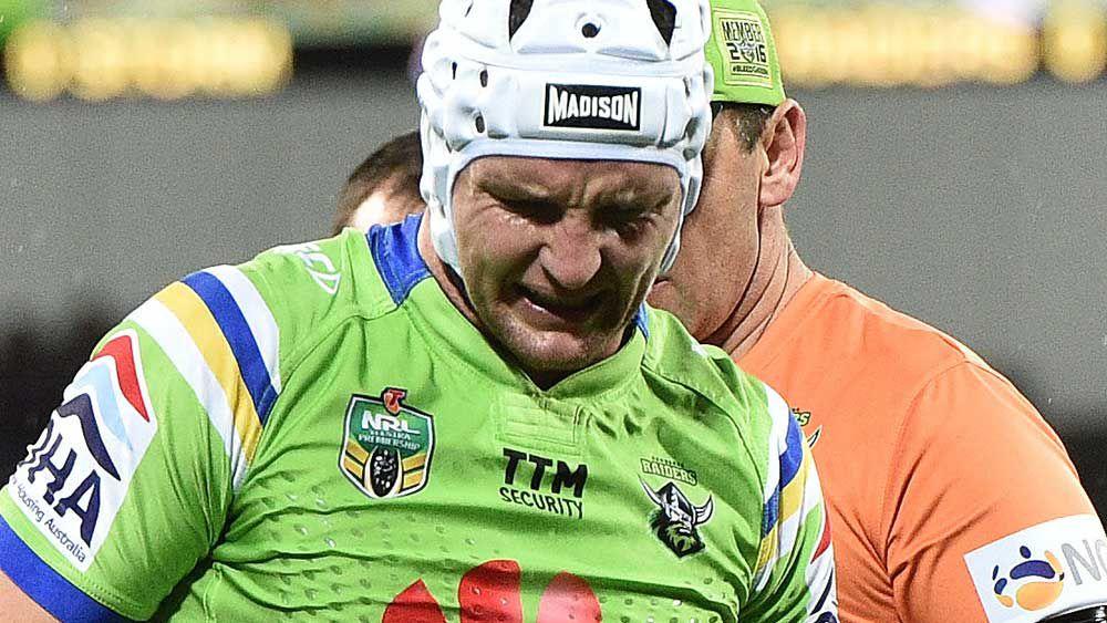 Depth to cover Croker's NRL injury: Rapana