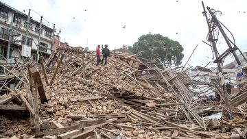 Nepal has been ravaged by a magnitude 7.9 earthquake.