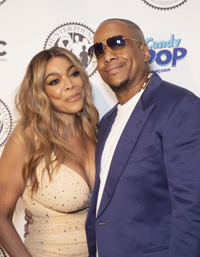 Wendy Williams Kevin Hunter attend Wendy Williams and The Hunter Foundation gala at Hammerstein Ballroom.