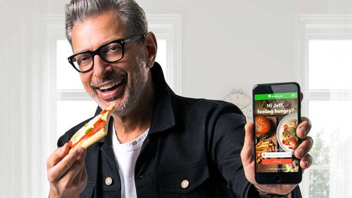 Jeff Goldblum for Menulog