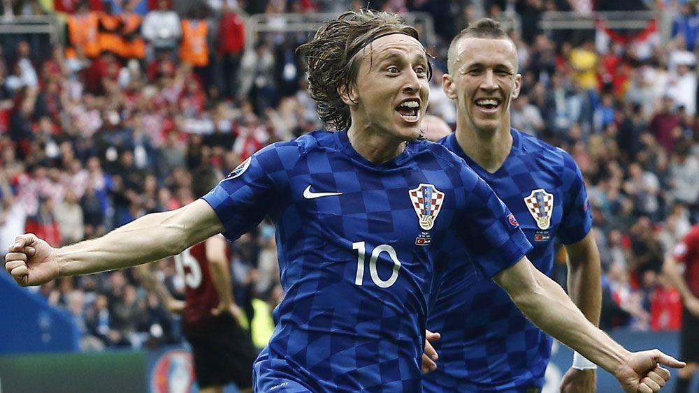 Croatia coach hails majestic Modric