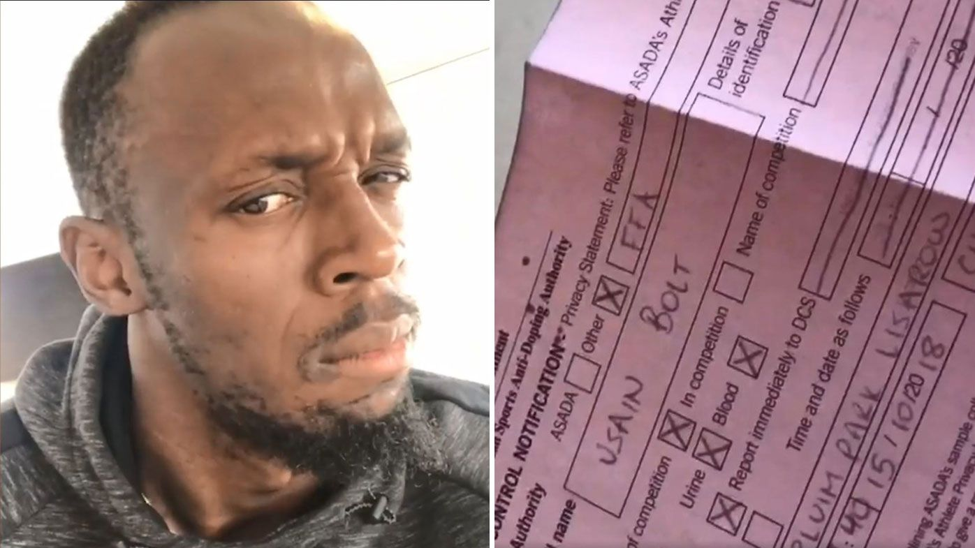 Aggrieved Usain Bolt takes to Instagram to blast drug testing notice