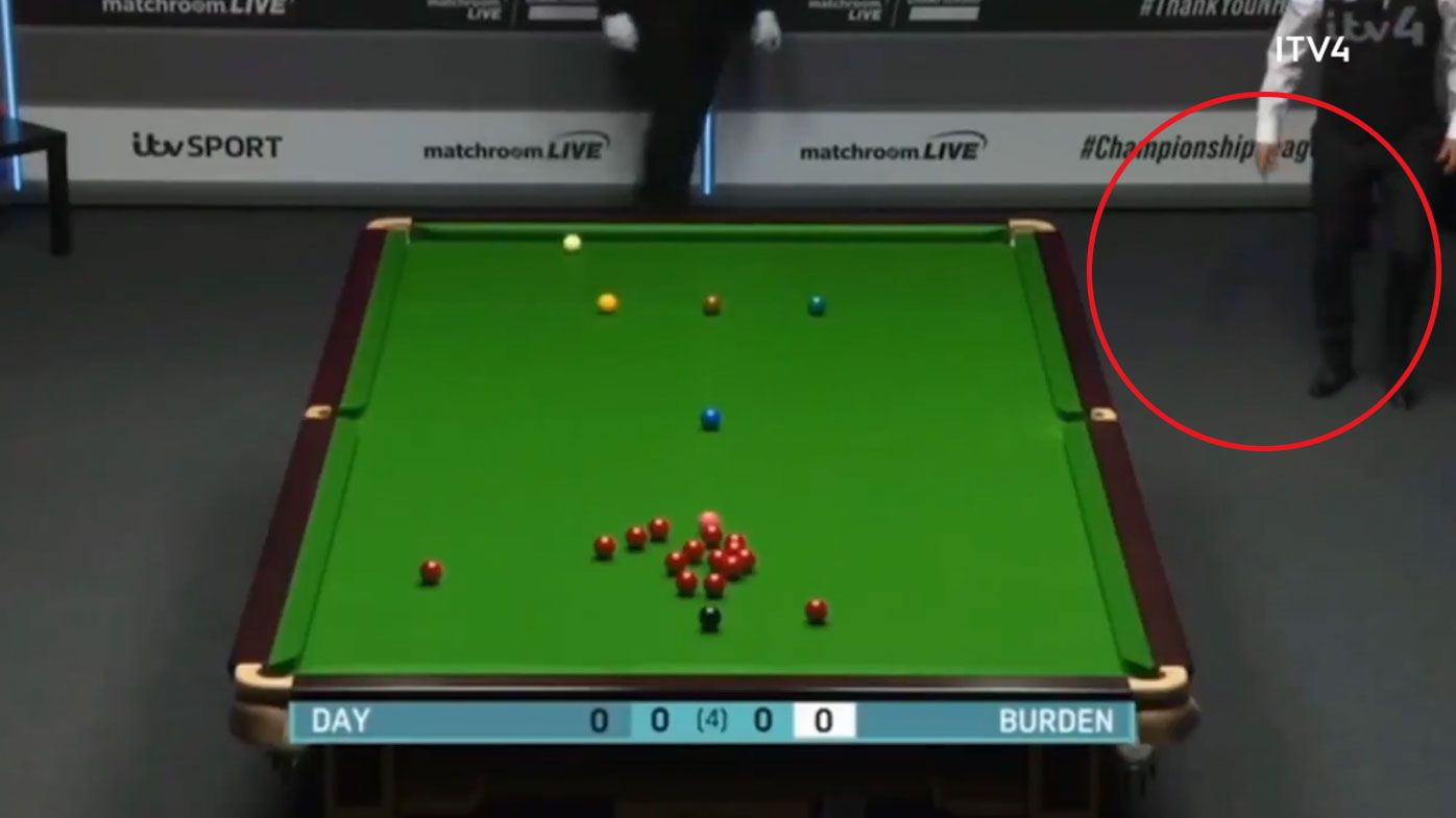 'Tell me what that was': Snooker star's heartfelt George Floyd gesture stuns commentators