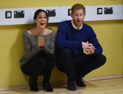 Prince Harry and meghan markle surprised