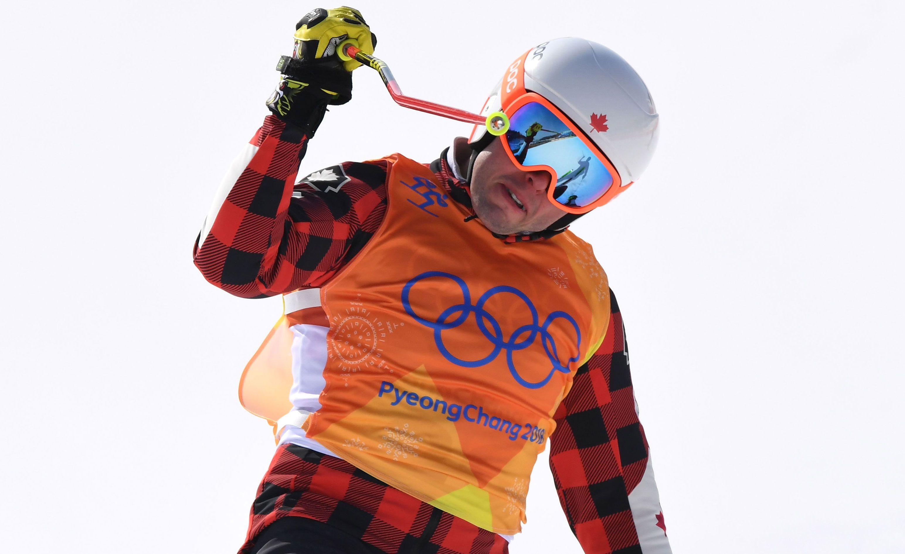 Canadian ski cross competitor Dave Duncan arrested at Winter Olympics