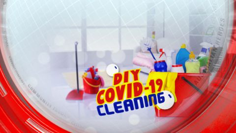DIY COVID-19 cleaning