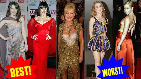 Pics: Best and worst Logies dresses ever