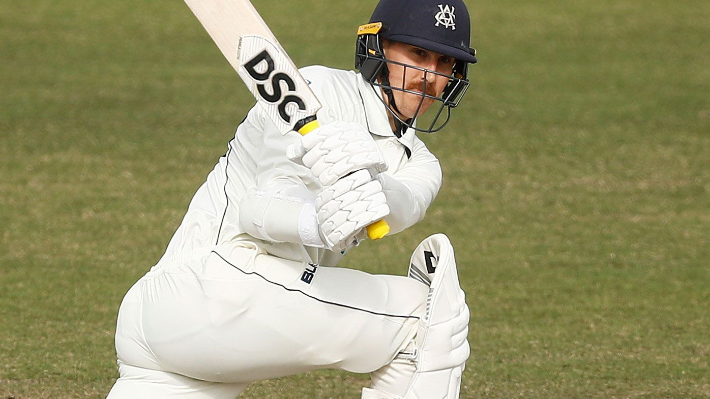 Nic Maddinson in action for Victoria.