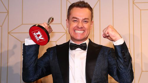 Grant Denyer was the big winner at the Logies. Picture: Getty