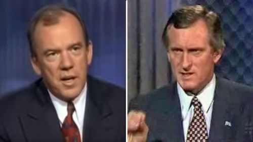 """Willesee's now infamous """"Birthday Cake"""" interview is thought to be one of the factors why John Hewson lost the 1993 Federal Election."""