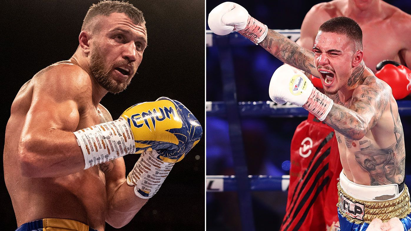 George Kambosos Jr eyes megastar Vasiliy Lomachenko in Australia after Garden fight