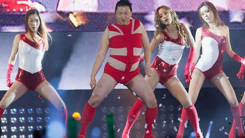 Watch: Psy nails Beyonce's 'Single Ladies' in spandex